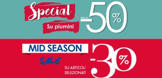 Offerte speciali da Camomilla Italia