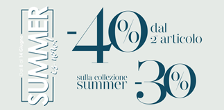 Inizia un'estate di sconti da Camomilla Italia