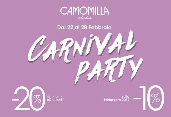 Saldi da Camomilla Italia