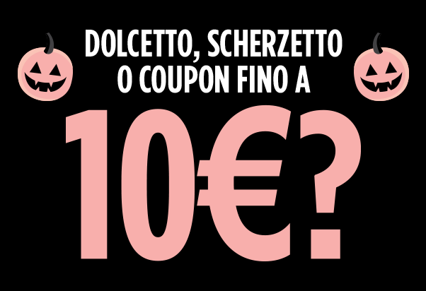 Tally Weijl: il coupon di Halloween.