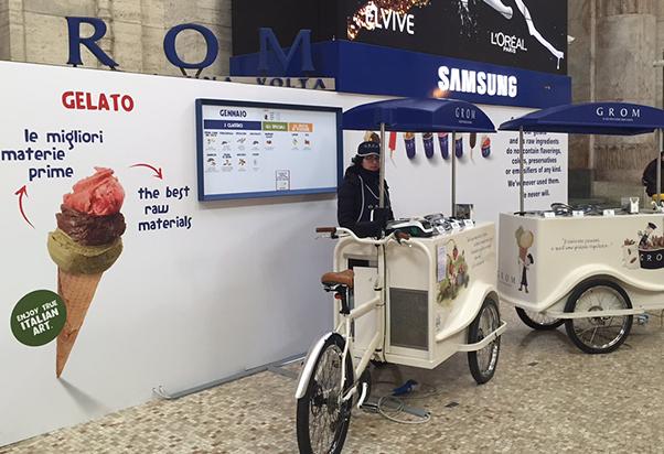 A Milano Centrale arriva la dolcezza del gelato Grom