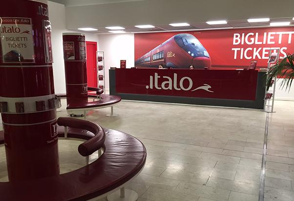 A Milano Centrale apre la biglietteria Italo