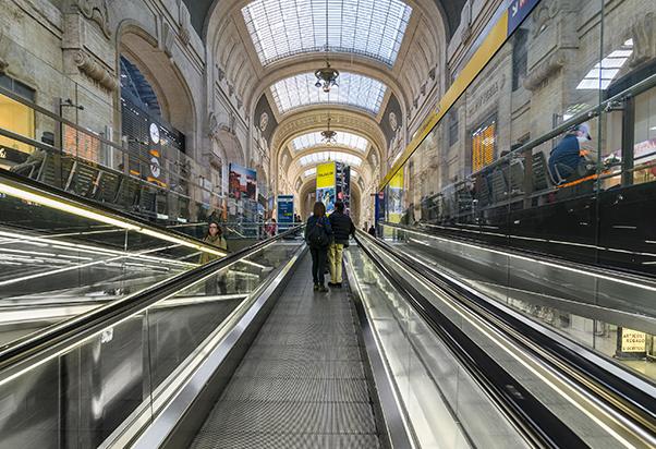 Google a Milano Centrale