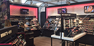 NYX Cosmetics opens in Milano Centrale