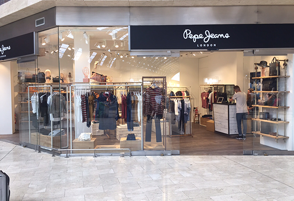 Pepe Jeans a Milano Centrale