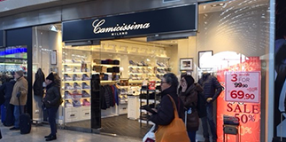 Camicissima: new opening.