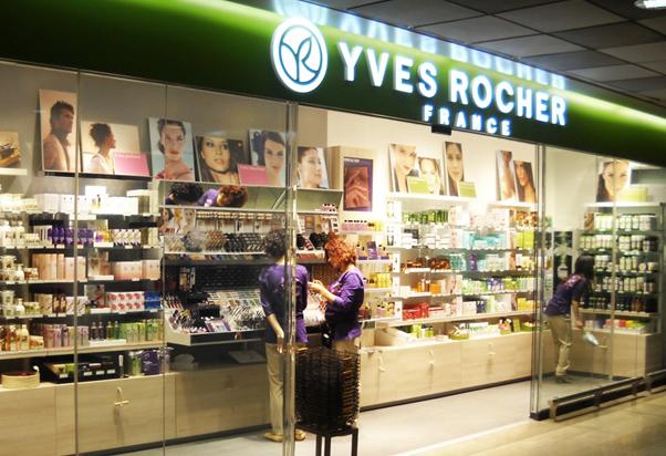 Yves Rocher a Milano Centrale.