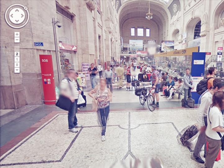 Milano Centrale è su Google Street View
