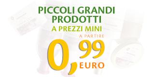 Da Bottega Verde acquisti a meno di 1€!