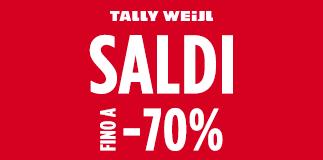 Grandi saldi da Tally Weijl