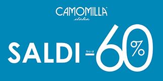 Camomilla Italia: saldi fino al 60%