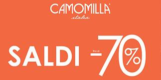 Camomilla Italia: sales up to 70% off