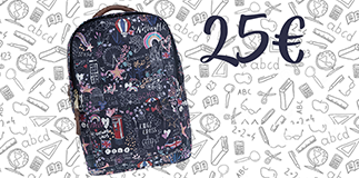 Accessorize: stylish backpacks.