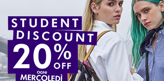 Accessorize: special discount for students.
