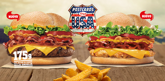 Burger King: postcards from USA!