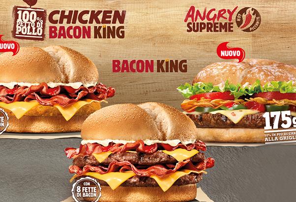 Burger King: il gusto aumenta!