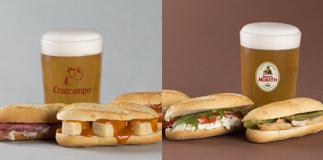 Due nuovi menu da 100 Montaditos