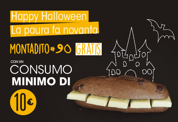 Happy Halloween da 100 Montaditos