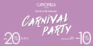 Speciale offerta di Carnevale