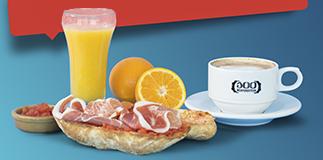 100 Montaditos: il buongiorno si vede dalla colazione!