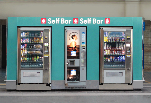 Distributori automatici Self Bar