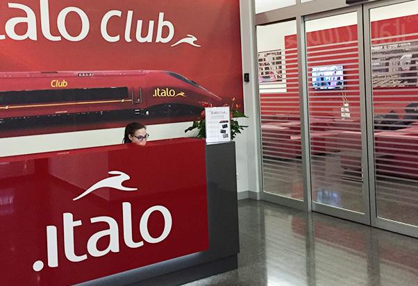 Apre la nuova Lounge Italo Club a Roma Termini