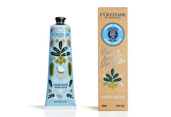 L'Occitane en Provence: crema mani Karitè, Limited Edition.
