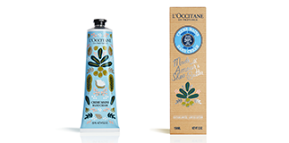 L'Occitane en Provence: Shea butter hand cream, Limited Edition.