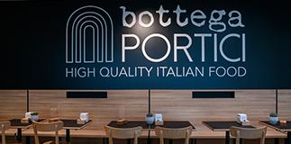 Apre Bottega Portici.