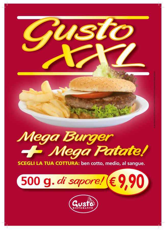 XXL Hamburger at an XXS price