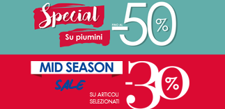 A lot of discounts at Camomilla Italia