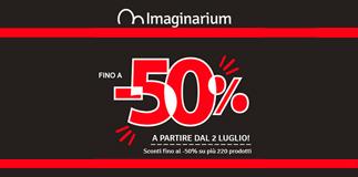 Summer sales at Imaginarium