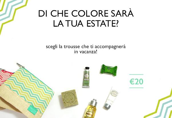 New promotion at L'Occitane