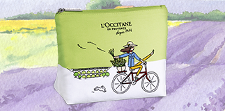 """Weekend in Provenza"" cosmetic bag by L'Occitane"