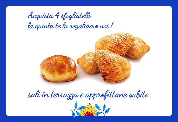 Eccellenze della Costiera gives you a sfogliatella for free