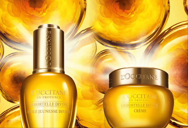 L'Occitane En Provence: beautiful like a goddess.