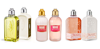 L'Occitane en provence: irresistible scented notes.