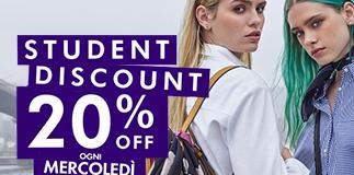 Accessorize: il mercoledì è Student Day.