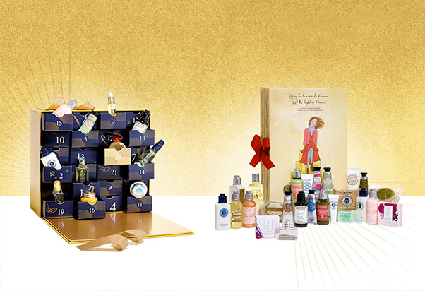 L'Occitane en Provence: the Advent calendars.