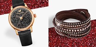 Swarovski: Slake bracelet for you.
