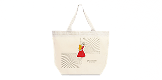 L'Occitane en Provence: limited edition Tote Bag.