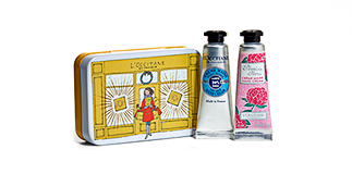 L'Occitane en Provence: mini size gift idea.