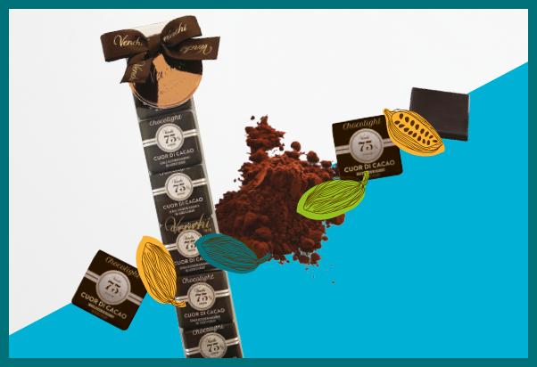 Venchi: pleasure tastes of chocolate.