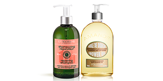 L'Occitane en Provence: Big Size discounted.