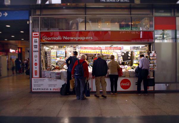 Newsagent - Galleria Centrale platform 1