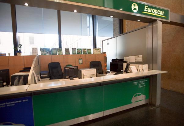 Europcar Platform Floor Roma Termini
