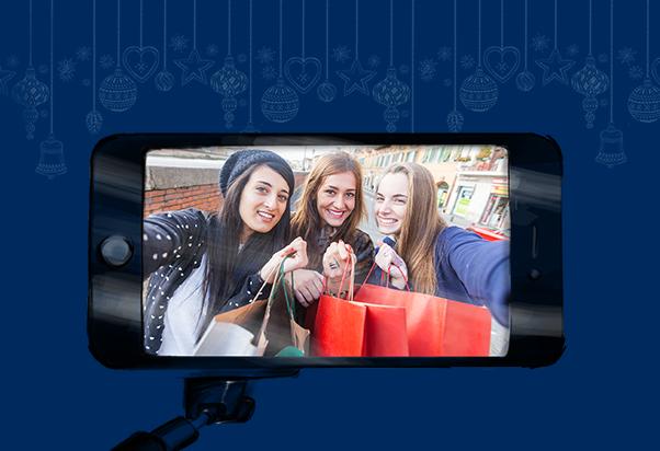 Condividi con noi le foto del tuo shopping natalizio
