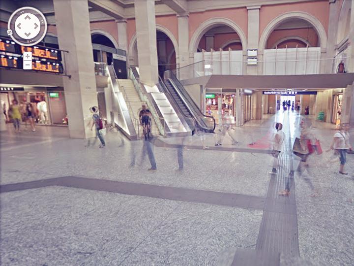 Torino Porta Nuova è su Google Street View!