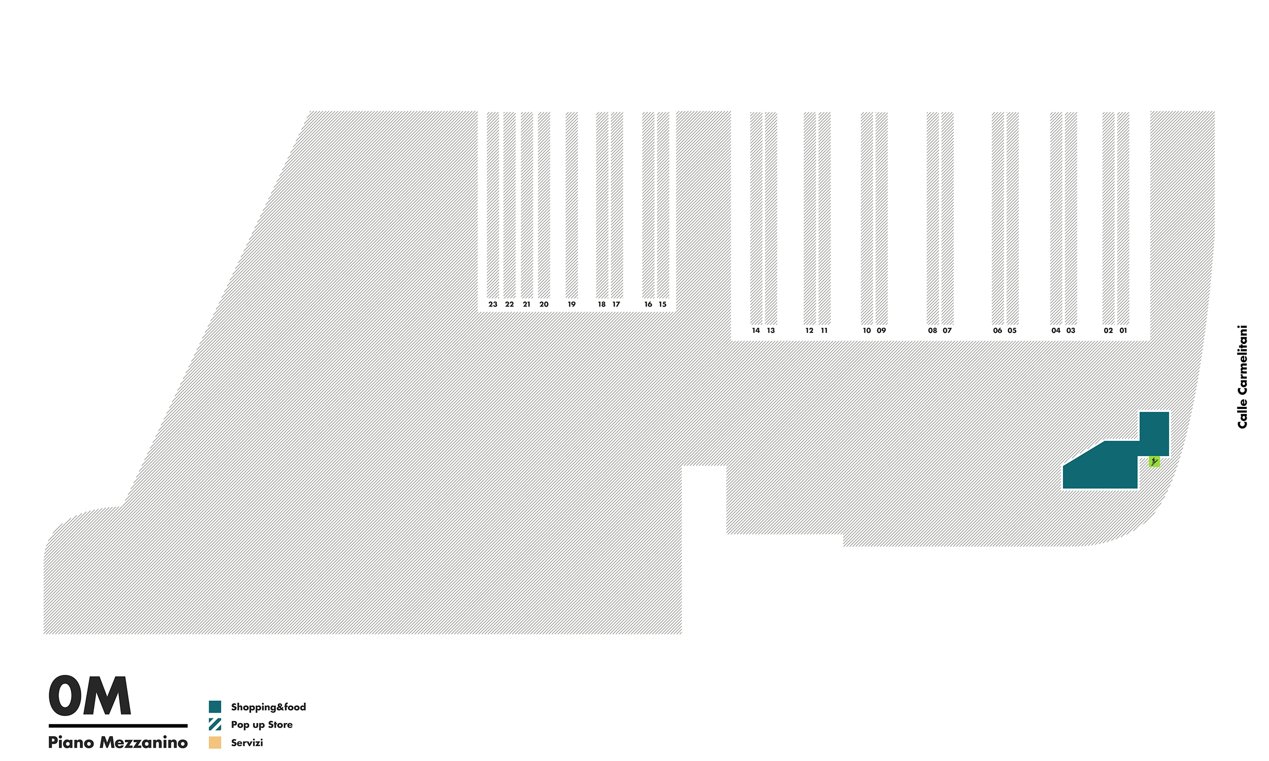 Piano Mezzanino