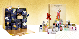 L'Occitane en Provence: the Advent calendar.